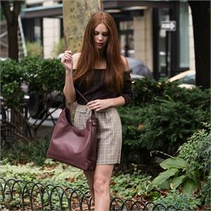Women's leather bags collection