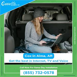 Get Bundle Cox Internet Services in Alma on Affordable