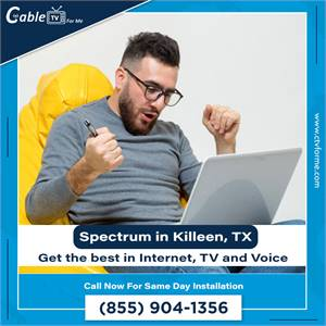 Spectrum Offers the Best Internet, Cable & Phone Deals In Killeen, TX