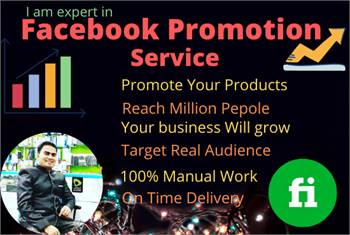 Facebook Marketing, Facebook Promotion, Business Promote, Products Promote , Social Media Manager