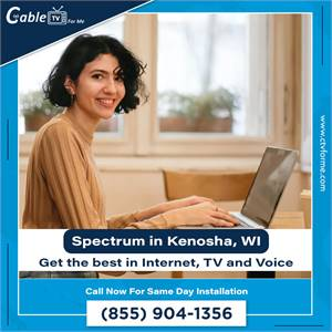 Get Spectrum is now available for all homes and businesses in Kenosha, WI