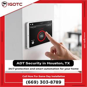 Buy ADT Home Security System in Houston, TX