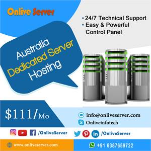 Full Control on Australia Dedicated Server Hosting by Onlive Server