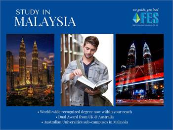 Malaysia is one of the few countries whose educational degrees are recognized globally.