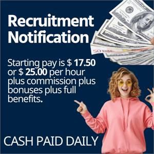 Recruitment Notification