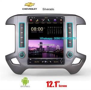 Chevrolet Silverado 2015-2019 Tesla Android Radio GPS Navigation