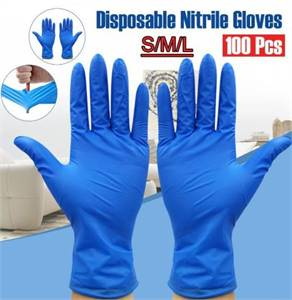 Latex Gloves - Size: S - XL - Nitrile Gloves - Size: S - XL