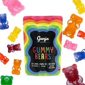 Ganja Edibles – Assorted Gummy Bears (THC)
