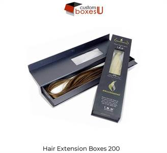 Custom Hair Extensions Packaging Box at wholesale in Texas,USA