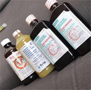 Lean - Actavis Promethazine Codeine, Hi-Tech, Wockhardt, TUSSIONEX Pennkinetic Cough Syrup