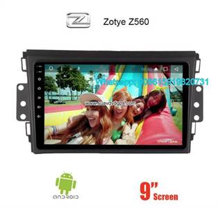 Zotye Z560 Audio Radio Car Android wifi GPS Camera Navigation