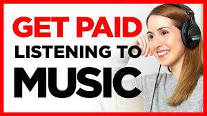 Listen Music and get Paid