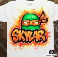 Custom Airbrush Cartoon Shirts