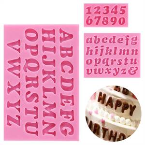 English Alphabet Uppercase Mould