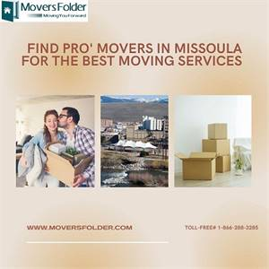 Find Pro' Movers in Missoula for the Best Moving Services