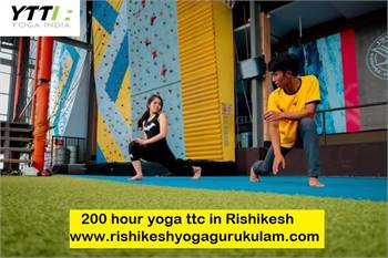 Top Yoga Institute In India	200 hour Yoga TTC in Rishikesh