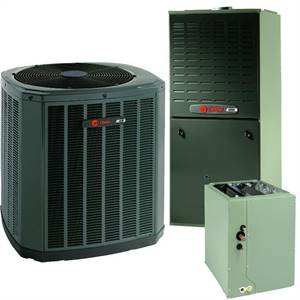 Trane 4 Ton 16 SEER Gas System Includes Installation