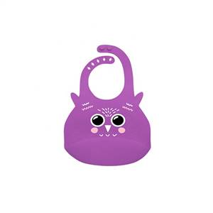 Supplier for Soft BPA Free Waterproof Soft Silicone Baby Bib