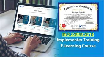 Get  ISO 22000  Lead Implementer Training Course