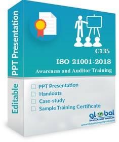 Online ISO 21001 Auditor Training PPT Kit