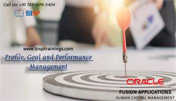 Profile, Goal and Performance Management Training