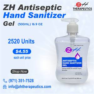 500 ml ZH Antiseptic Hand Sanitizer Gel