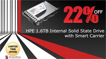 SAVE BIG 22% OFF on P06580-001 HPE 1.6TB MLC SAS 12Gbps Mixed Used 2.5-inch Internal SSD