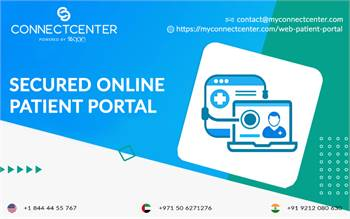 Secured online patient portal  in USA l CONNECTCENTER