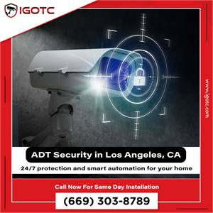 Buy ADT Home Security System in Los Angeles, CA