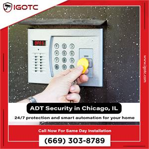 Buy ADT Home Security System in Chicago, IL