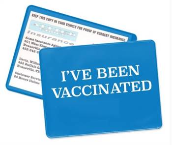 Buy Covid - 19 Vaccination Card Online