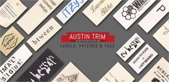Cotton Labels   Custom Labels   Custom Printed Cotton Labels   Austintrim