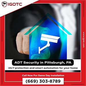 Protect your home with Igotc Security Solutions in Pittsburgh