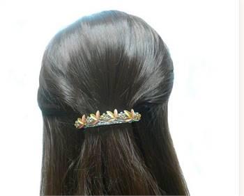 Crystal barrettes for girls|bellafashionjewelry