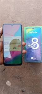 Infinix Hot8 used for sale for serious buyee only