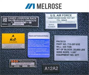 High-quality and custom Metalphoto Nameplates from Melrose