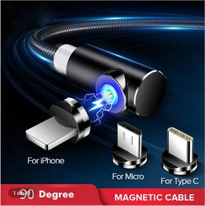 Magnetic Charging Cable for Micro USB / Type C / iPhone