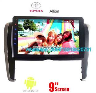 Toyota Allion Audio Radio Car Android wifi GPS Camera Navigation