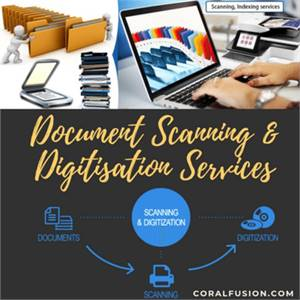 Document Scanning and Document Digitization Services.