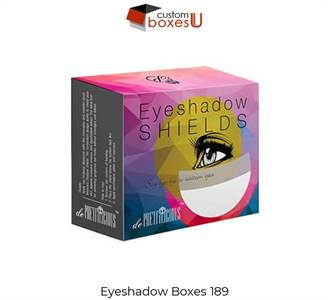 Eyeshadow boxes with Printed logo & Design in USA
