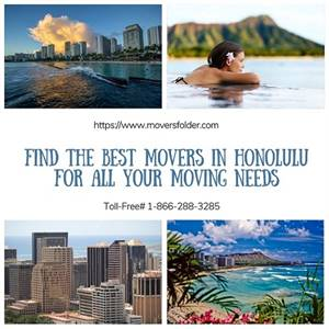 Find the Best Movers in Honolulu for all your Moving Needs