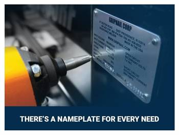 Leading etched and engraved brass nameplate & label manufacturers in the USA