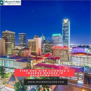 Find and Hire Licensed & Insured Movers in Oklahoma City