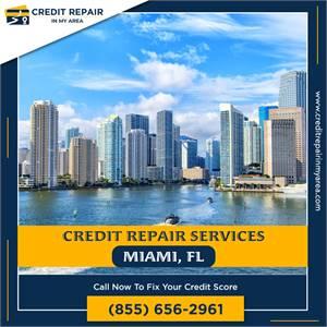 We are #1 in credit repair services in Miami, FL