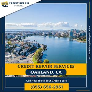 We can help you fix your credit report in Oakland, CA