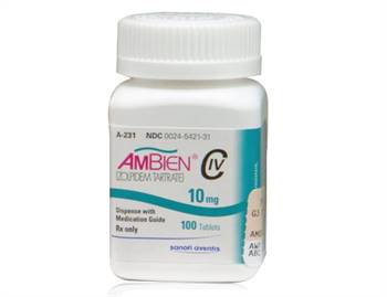 Ambien (zolpidem-tartrate) 10 mg