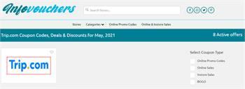 Get Trip-com Discount Codes, Promo Codes & Deals By InfoVouchers 2021.