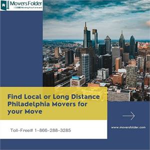 Find Local or Long Distance Philadelphia Movers for your Move