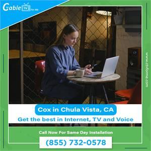 Get Cox to Unlimited High Speed Internet Access in Chula Vista, CA