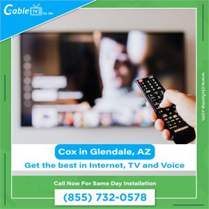 Cox is now offering Internet Access in Glendale, AZ
